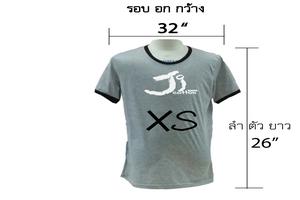 เสื้อเปล่าสีเทาไซร์ XS
