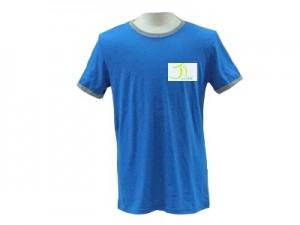เสื้อเปล่าJi สีฟ้า