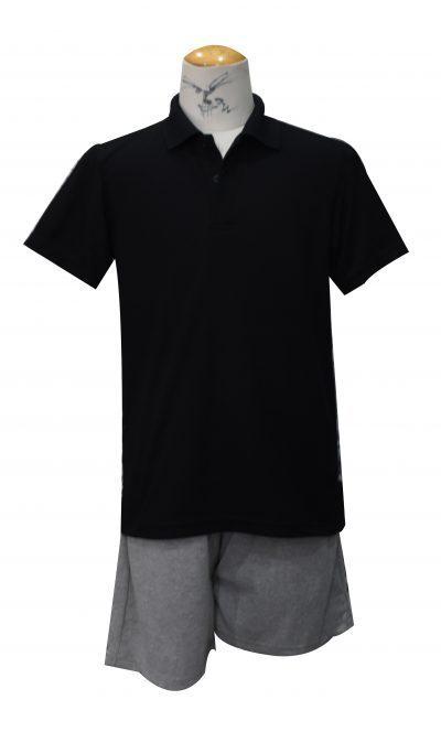 รับทำเสื้อโปโล เสื้อโปโลสีดำ 2017