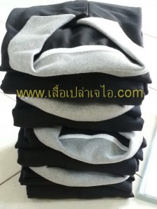 เสื้อโปโล สีดำ2