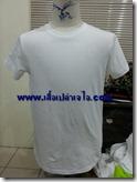 เสื้อยืดคอกลมสีขาว 2