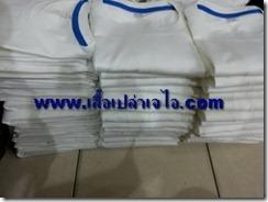 เสื้อยืดคอกลมสีขาว1