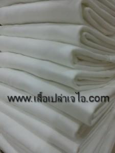 เสื้อยืดคอกลมสีขาว4944