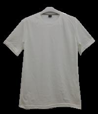 เสื้อยืดคอกลมสีขาว C1001