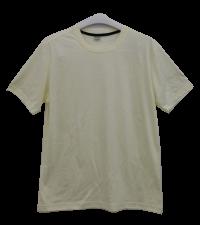 เสื้อยืดคอกลมสีครีม C1013