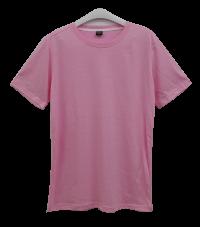 เสื้อยืดคอกลมสีชมพู C1008