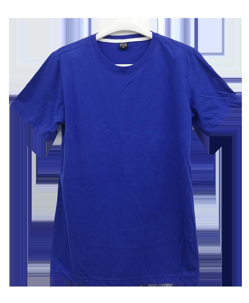 เสื้อยืดคอกลมสีน้ำเงิน C1006
