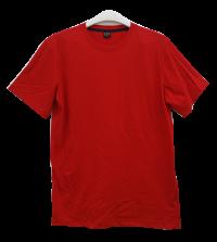 เสื้อยืดคอกลมสีแดง C1010