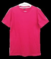 เสื้อยืดคอกลมสีบานเย็น C1009