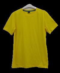 เสื้อยืดคอกลมสีเหลือง C1011