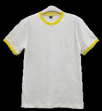 เสื้อยืดขาวกุ้นเหลือง