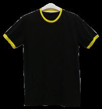 เสื้อยืดดำกุ้นเหลือง